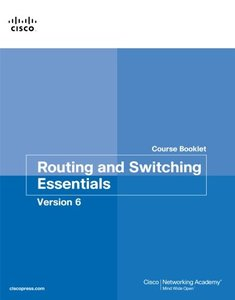 Routing and Switching Essentials v6 Course Booklet (Course Booklets)-cover