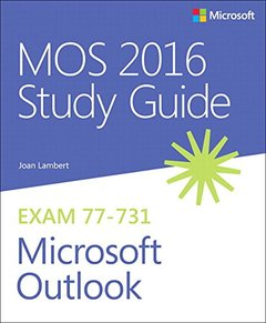 MOS 2016 Study Guide for Microsoft Outlook (MOS Study Guide)-cover