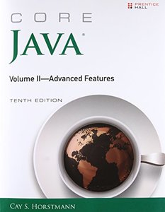 Core Java, Volume II--Advanced Features (10th Edition) (Core Series)-cover