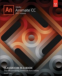 Adobe Animate CC Classroom in a Book (2017 release)-cover