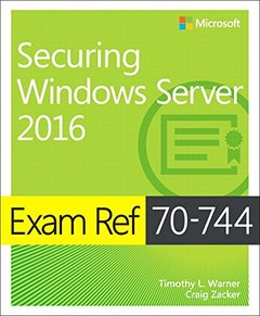 Exam Ref 70-744 Securing Windows Server 2016-cover