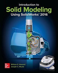 Introduction to Solid Modeling Using SolidWorks 2016-cover