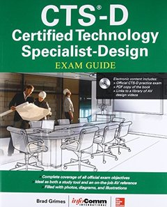 CTS-D Certified Technology Specialist-Design Exam Guide-cover