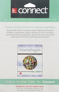Connect Access Card for Computing Essentials 2017-cover