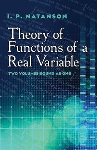 Theory of Functions of a Real Variable (Paperback)-cover