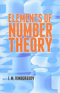 Elements of Number Theory (Paperback)-cover