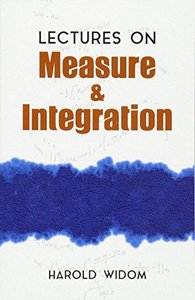 Lectures on Measure and Integration (Paperback)-cover