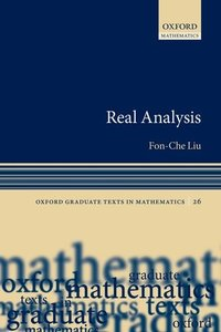 Real Analysis (Paperback)-cover