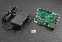 Raspberry Pi 3 樹莓派套件組--簡配A(含Pi 3 + 32G SD卡 + 電源)-cover