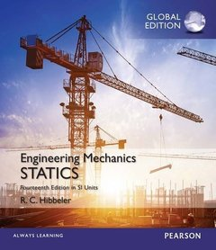 Engineering Mechanics: Statistics in Si Units, 14/e (IE-Paperback)-cover