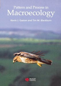 Pattern and Process in Macroecology-cover