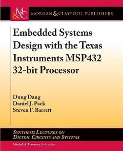 Embedded Systems Design with the Texas Instruments Msp432 32-Bit Processor-cover
