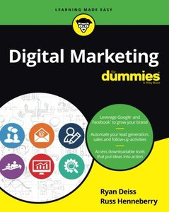 Digital Marketing For Dummies-cover