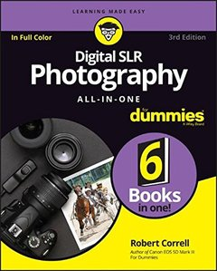 Digital SLR Photography All-in-One For Dummies-cover