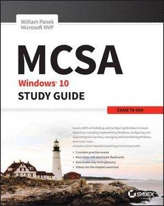 MCSA Windows 10 Study Guide: Exam 70-698-cover