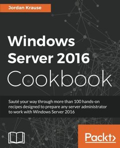Windows Server 2016 Cookbook-cover