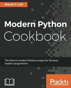 Modern Python Cookbook (Paperback)-cover