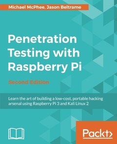 Penetration Testing with Raspberry Pi - Second Edition-cover