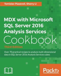 MDX with Microsoft SQL Server 2016 Analysis Services Cookbook - Third Edition-cover