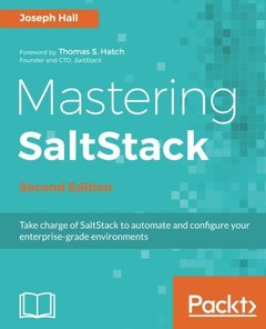 Mastering SaltStack - Second Edition-cover