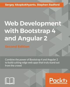 Web Development with Bootstrap 4 and Angular 2 - Second Edition-cover