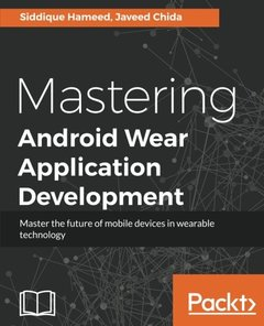 Mastering Android Wear Application Development-cover