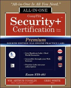 CompTIA Security+ Certification All-in-One Exam Guide, Premium Fourth Edition with Online Practice Labs (Exam SY0-401)-cover