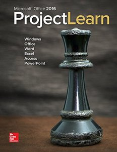 Microsoft Office 2016: ProjectLearn-cover