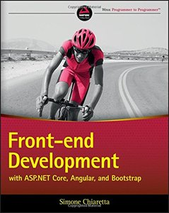 Front-end Development with ASP.NET Core, AngularJS, and Bootstrap-cover