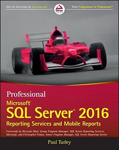 Professional Microsoft SQL Server 2016 Reporting Services and Mobile Reports-cover