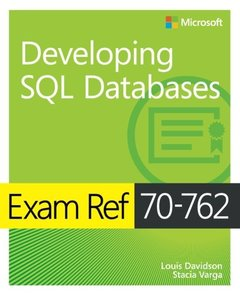 Exam Ref 70-762 Developing SQL Databases-cover