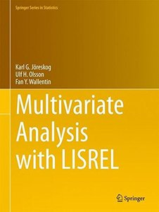 Multivariate Analysis with LISREL (Springer Series in Statistics)-cover