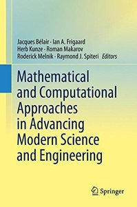 Mathematical and Computational Approaches in Advancing Modern Science and Engineering-cover