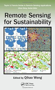 Remote Sensing for Sustainability (Remote Sensing Applications Series)(Hardcover)-cover