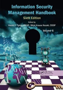 Information Security Management Handbook, (Sixth Edition), Volume 6(paperback)-cover