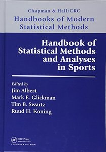 Handbook of Statistical Methods and Analyses in Sports-cover