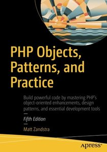 PHP Objects, Patterns, and Practice, 5/e-cover