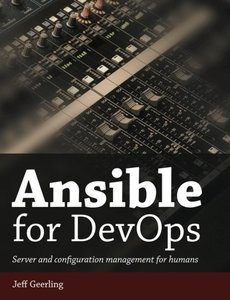 Ansible for Devops: Server and Configuration Management for Humans-cover