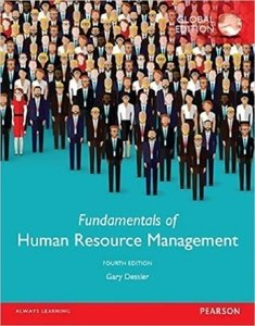 Fundamentals of Human Resource Management, 4/e (Paperback)-cover