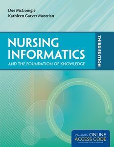 Nursing Informatics and The Foundation of Knowledge, 3/e (Paperback)-cover