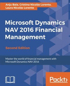 Microsoft Dynamics NAV 2016 Financial Management - Second Edition-cover