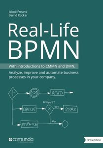 Real-Life BPMN: With introductions to CMMN and DMN-cover