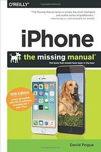 iPhone: The Missing Manual: The book that should have been in the box (10/e)(快遞進口)-cover
