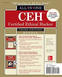 CEH Certified Ethical Hacker Bundle, Third Edition (All-In-One)-cover