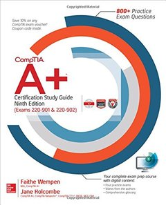 CompTIA A+ Certification Study Guide, Ninth Edition (Exams 220-901 & 220-902)-cover