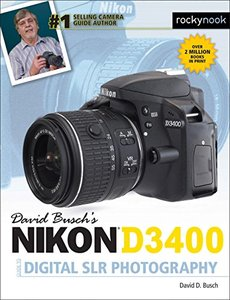 David Busch's Nikon D3400 Guide to Digital SLR Photography-cover