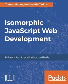 Isomorphic Application Development with JavaScript-cover