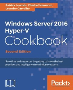 Windows Server 2016 Hyper-V Cookbook - Second Edition-cover