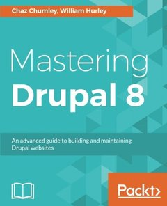 Mastering Drupal 8-cover