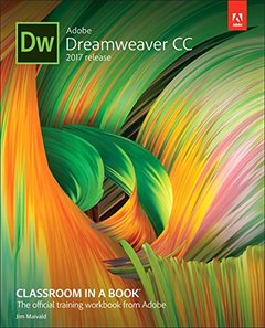 Adobe Dreamweaver CC Classroom in a Book (2017 release)-cover